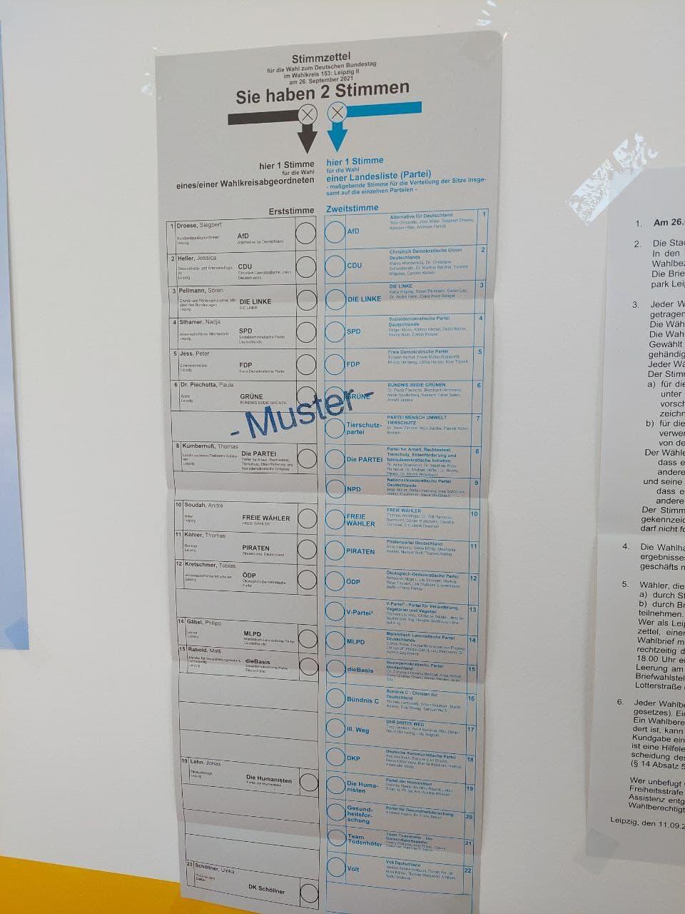 Um diese Zettel gehts heute in Leipzig. Foto: LZ
