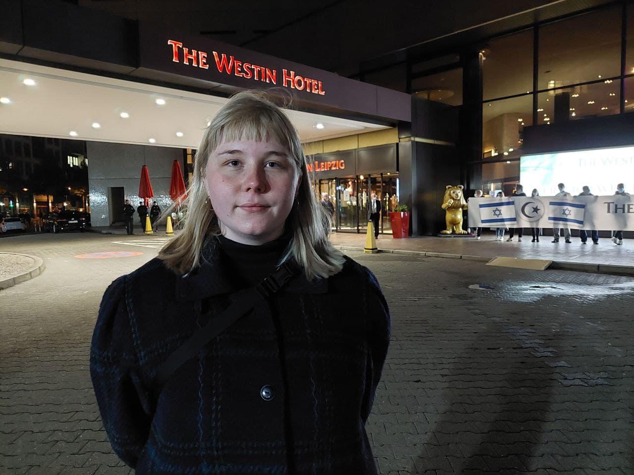 Mareike Engel (Jusos Leipzig). Foto: LZ
