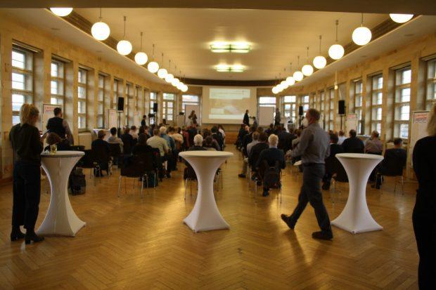 Forum Leipziger Auwald in der Konsumzentrale Leipzig. Foto: Ralf Julke