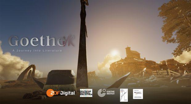 """Ein Klassiker der deutschen Literatur virtuell: """"Goethe VR"""" bringt Goethes Faust I und II im Deutschen Buch- und Schriftmuseum der Deutschen Nationalbibliothek vom Buch in eine interaktive Virtual Reality Anwendung. Foto: DNB"""