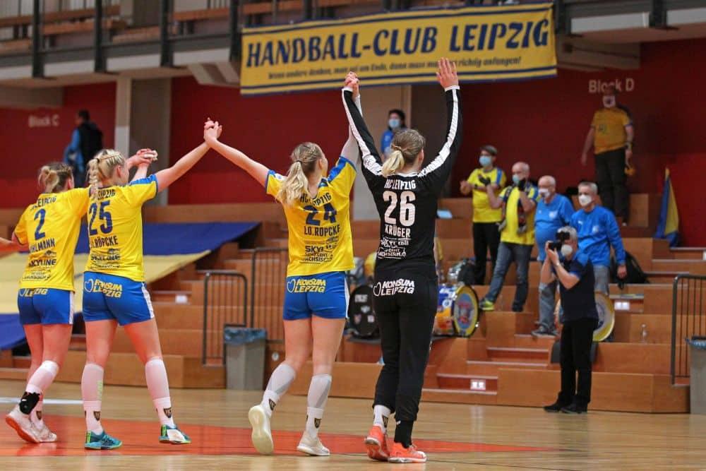 Der HC Leipzig will wieder zurück ins Handball-Oberhaus. Foto: Jan Kaefer